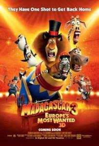 Madagascar 3 (2012) มาดากัสการ์ ภาค 3