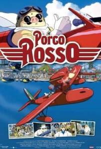 Porco Rosso (1992) พอร์โค รอสโซ สลัดอากาศประจัญบาน
